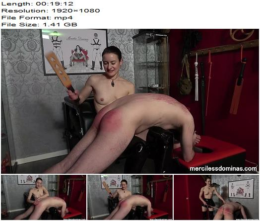Merciless Dominas  Miss Flora  Topless Caning  Spanking preview