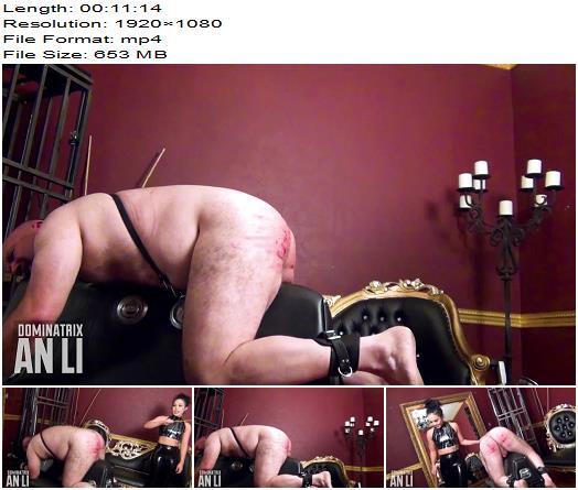 Mistress An Li  A Caning Thrashing  Part 2  Femdom preview