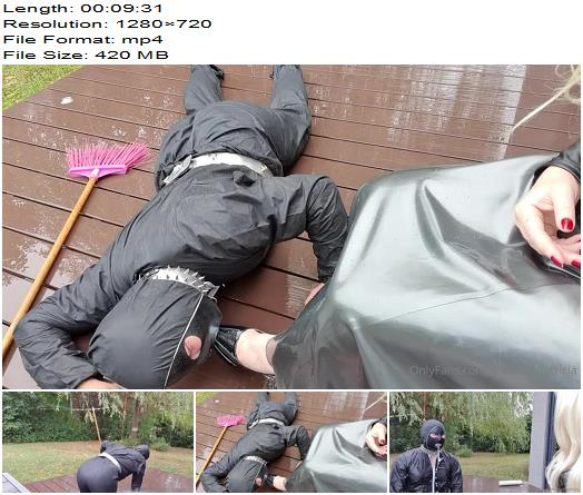 Mistress Patricia  My Slave Had A Lot Of Fun Doing The Gardening In His Thick Work  Femdom preview