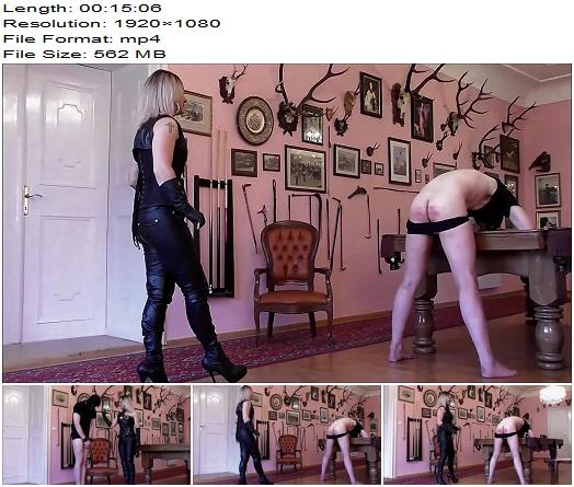 OWK  Athena  Caning By Mistress Athena  Femdom preview