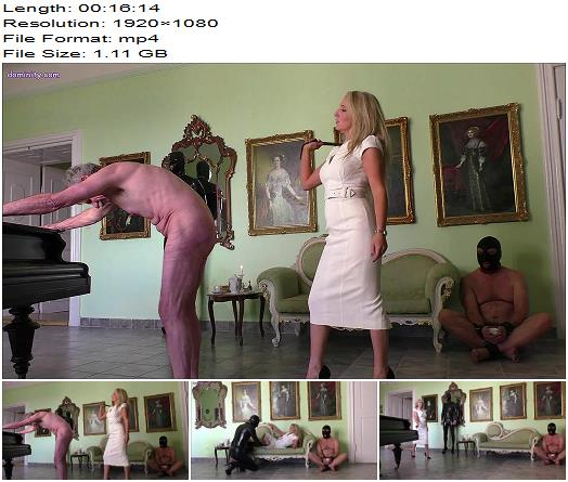 OWK  Mistress Courtney  Afternoon Tea With The Whip  Part 1  Whipping and Caning preview