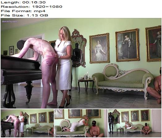 OWK  Mistress Courtney  Afternoon Tea With The Whip  Part 2  Whipping and Caning preview