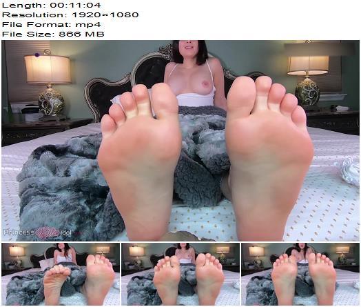 Princess Ellie Idol  JERK OFF TO STEPS1SS FEET  Foot Fetish preview