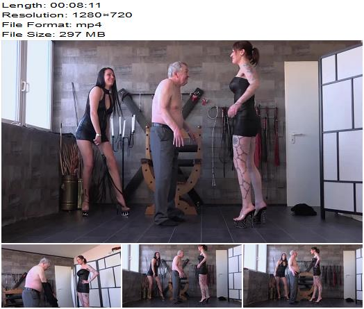 SadoLadies  Miss Jayla Mistress Medina  Drunken Slave  Whipping and Caning preview