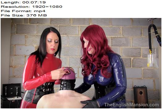 The English Mansion  Dominant Dolly and Lady Bellatrix  Latex Bound  Pound Pt1  Part 1  Femdom preview