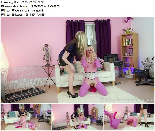 The English Mansion  Miss Eve Harper and Miss Jade Jones  Pet Pup  Part 5  Human Animal preview