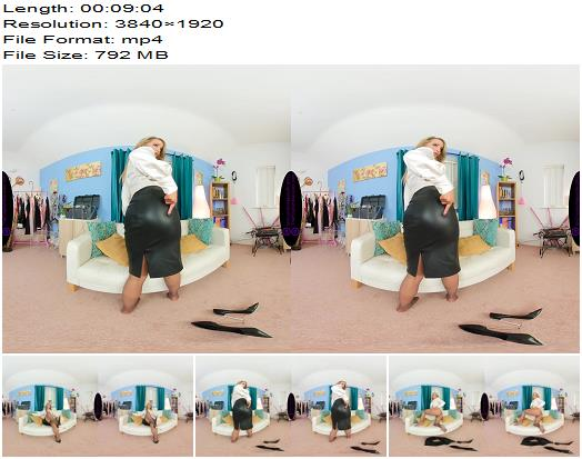 The English Mansion  Mistress Courtney  Pantyhose JOI  VR  Masturbation Instruction preview