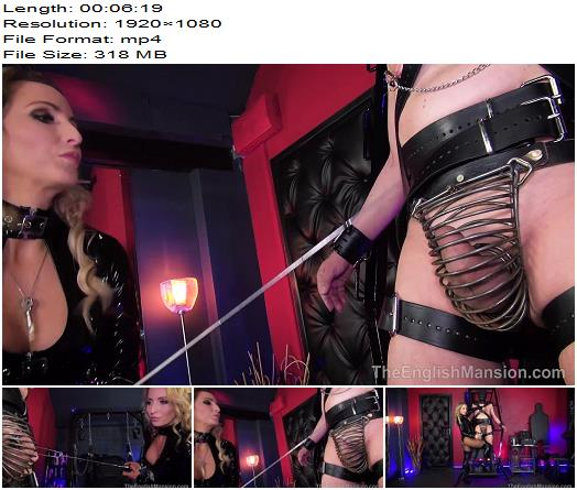 The English Mansion  Mistress Courtney  Torment Wheel  Part 3  Femdom preview
