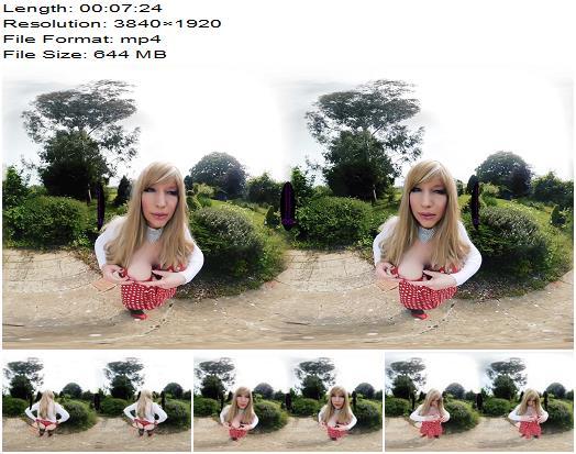 The English Mansion  Tiffany Real Doll  Peeping Pervert  VR  Femdom POV preview