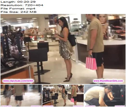 The Mean Girls  Shopping Slave  Public Femdom preview