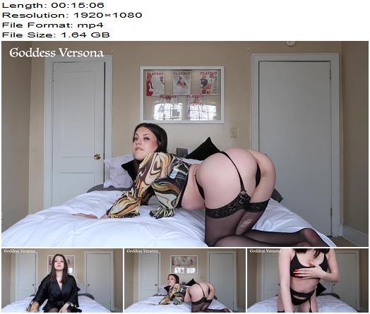 Versona  Premature Cumming and Denial Game  Masturbation Instruction preview