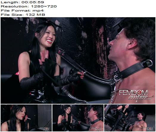 Vicious Femdom Empire  Goddess Miki  Humiliated Ashtray  Femdom preview