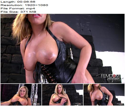 Vicious Femdom Empire  Olivia Austin  Stroke Session  Masturbation Instruction preview