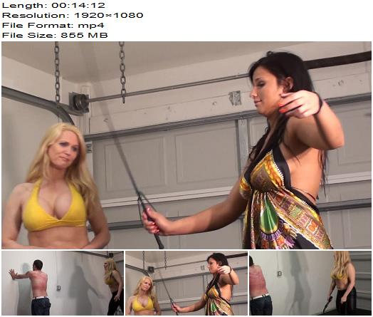 Whipped by Amazons  Femdom preview