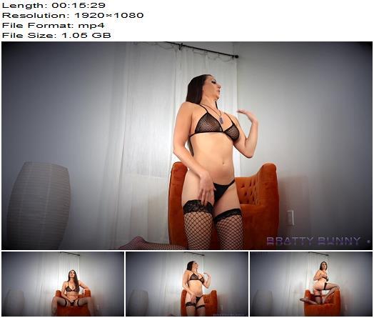 Bratty Bunny  Basic Bitch JOI  Masturbation Instruction preview