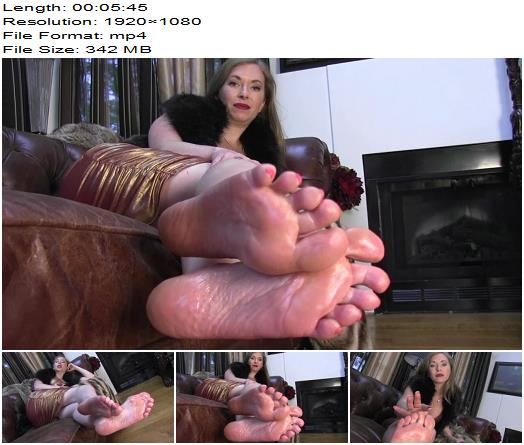 ClubStiletto  Mistress T  No one cares about you now Worship My Feet  Foot Fetish preview