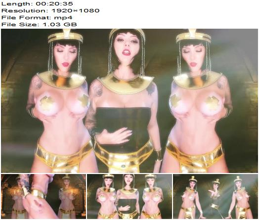 Dommebombshell  CLEOPATRATHE QUEEN OF NILE  Brainwash preview