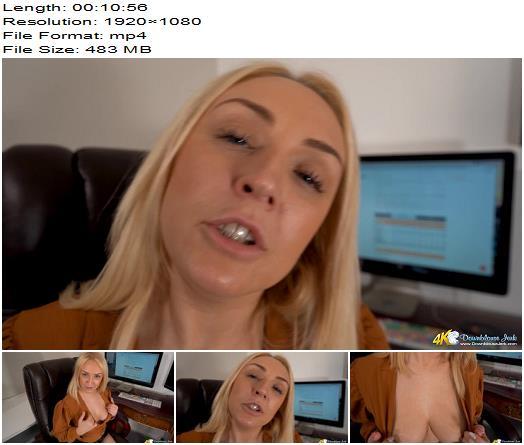 DownBlouse Jerk  Flirty Fucker  Femdom POV preview
