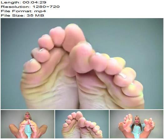 Goddess Jessica  Shapely French Tipped Feet  Foot Fetish preview