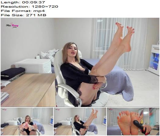 Honey Barefeet  BBC Worship Foot Humiliation JOI  Foot Fetish preview