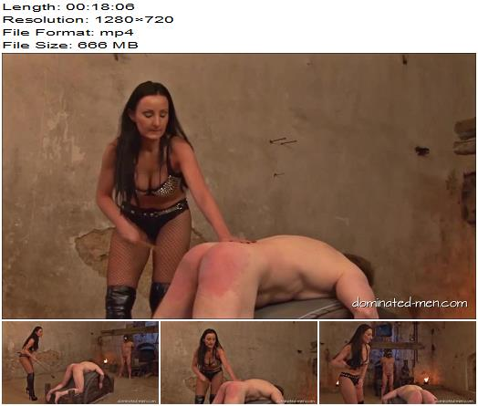 Mistress Luciana Sklave W Sklave J  Domination Spanking Whipping preview