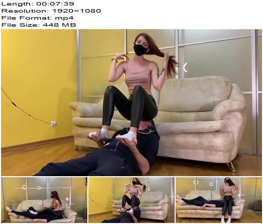 Petite Princess FemDom  Cruel Domina Sofi In Black Leggings  Face Sitting  Smothering preview