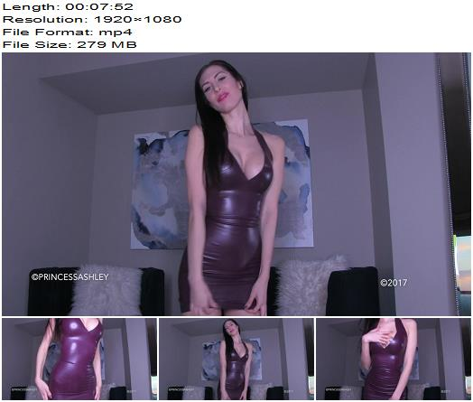 Princess Ashley  New Latex Dress Needs Shining  Blackmail  Findom preview