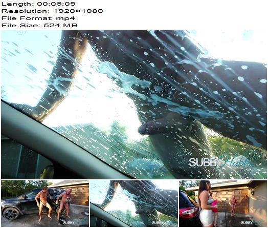 Subby Hubby  Kendra  Kiki Klout Car Wash   Kendra James Kiki Klout preview