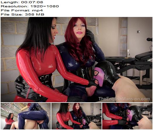 The English Mansion  Dominant Dolly and Lady Bellatrix  Latex Bound and Pound Pt2  Part 2  Make Me Bi preview
