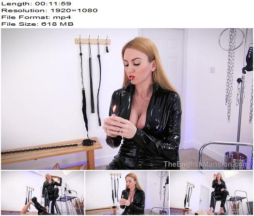 The English Mansion  Miss Suzanna Maxwell  Smoking Hot Worship  Complete Movie  Femdom preview