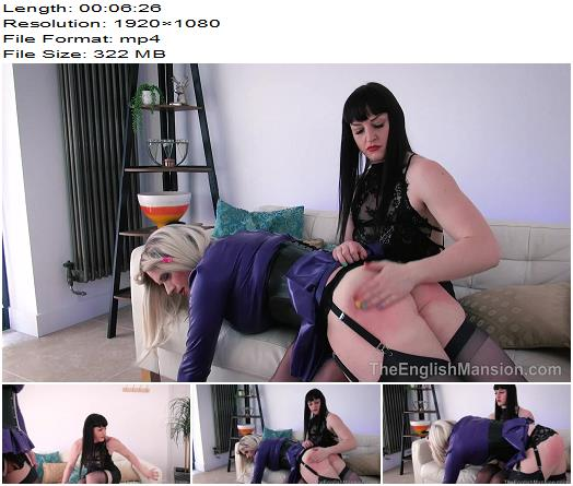 The English Mansion  Miss Vivienne lAmour  Earning Her Keep  Part 1  Sissy preview
