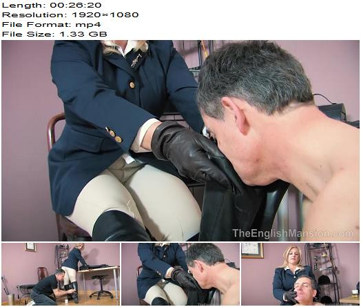 The English Mansion  Stable Boy Boot Duties  Complete Movie   Lady Nina Birch preview