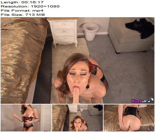 WankItNow  Honour May  Suck And Fuck  Masturbation Instruction preview