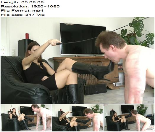 Boot Heel Worship CBT Humiliation  Lady Sofia  Whipped Bootlicker  Femdom preview