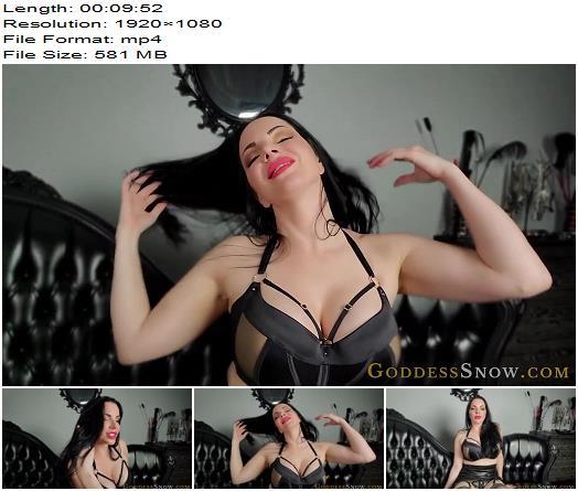 Goddess Alexandra Snow  Stroke for Your Goddess  Masturbation Instruction preview