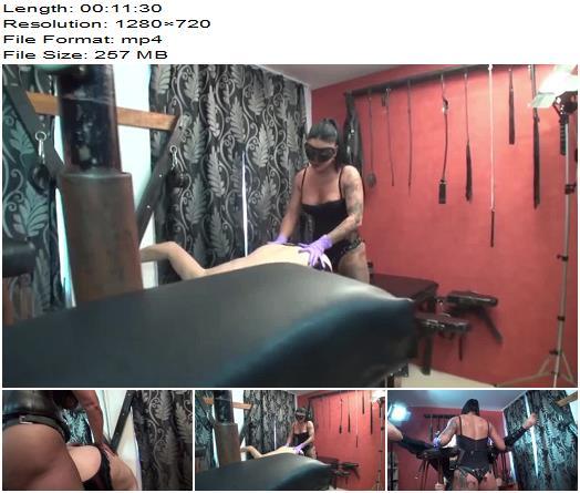 Goddess Andreea Goddess Kytana  Hardcore strapon fucking until slave cum  Femdom preview