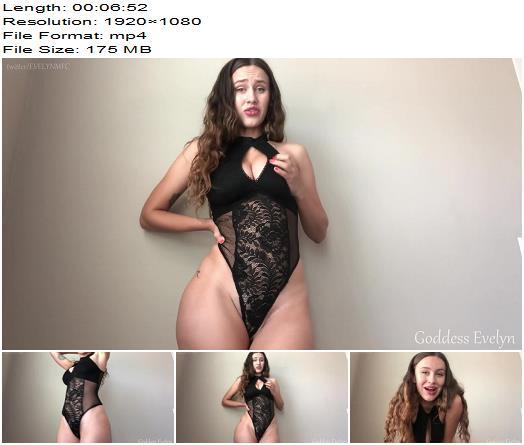 Goddess Evelyn  Mommys Little Cum Guzzler  Cei preview