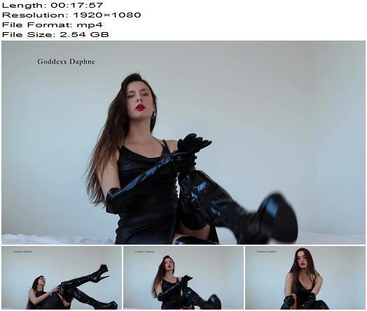 Goddexx Daphne  Latex Handjob CEI  Brainwash preview