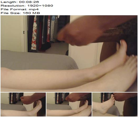 Junglefever69x  Teasing You With My Feet  Bbc preview