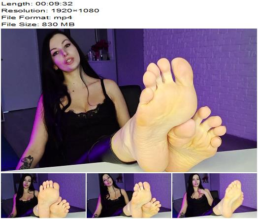 Miss Daria  Submit to my feet  Foot Fetish preview