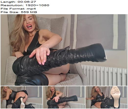 Miss Tiff  Boot Licking Beta  Foot Fetish preview