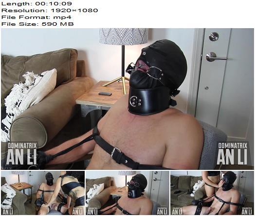 Mistress An Li  Gagged Slut  Bondage preview
