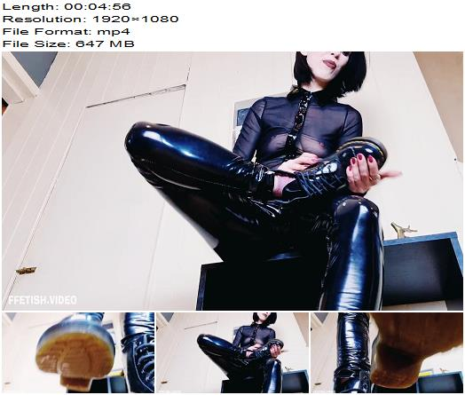 Mistress Mia  CATCH THE SPIT BOOT BITCH  Fetish preview