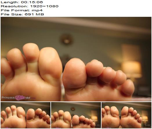 Princess Ellie Idol  FOOTSY CANT SEE  Foot Fetish preview
