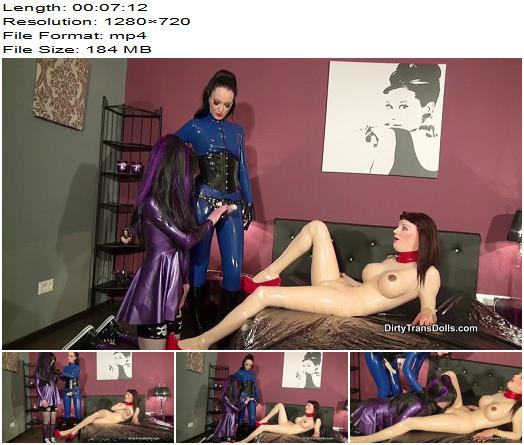 Queens of Kink  Cum on My Rubber Doll  Part 1  Femdom preview