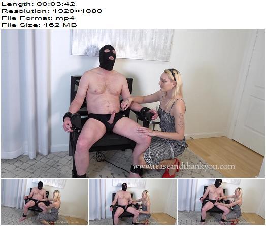 Tease and Thank You  Mistress Velma  3 Minute Cum Shot  Handjob  Milking preview