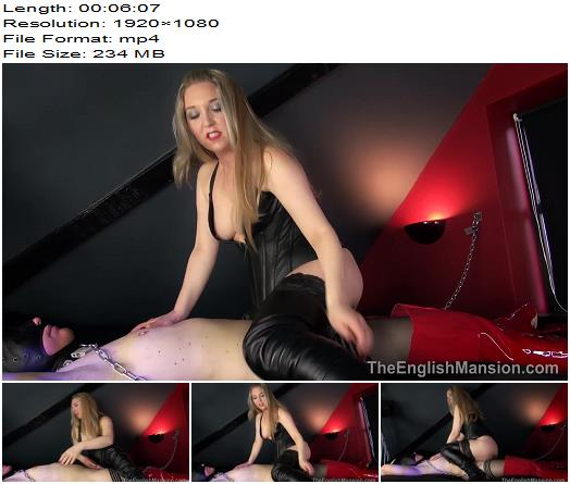The English Mansion  Mistress Sidonia  Cell Sex Boot Worship  Part 2  Femdom preview