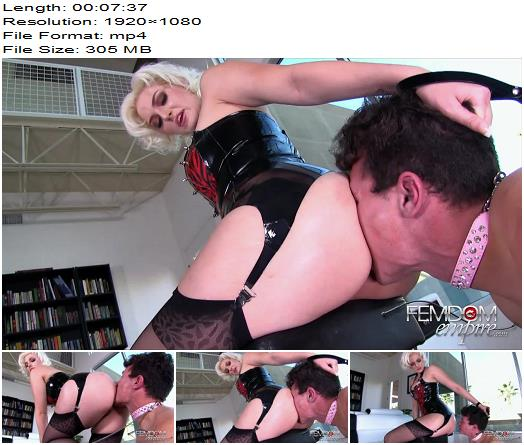 Vicious Femdom Empire  Jenna Ivory  Filthy Anal Servant  Oral Servitude preview