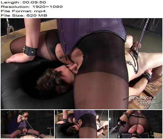 Vicious Femdom Empire  Kylie Kalvetti  Pussy Worship Tease  Oral Servitude preview