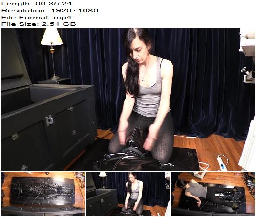 Bondage Liberation  Strapped Down and Sacked Out  Femdom preview